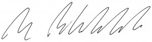 Ben Blackler Signature