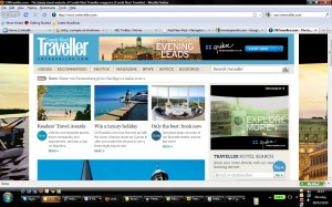 New ad formats like on cntraveller.com also make online advertising more attractive